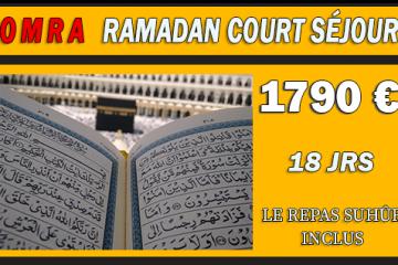 Omra Ramadan 15 jours